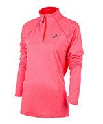 bluza do biegania damska ASICS LONG SLEEVE 1/2 ZIP JERSEY / 141647-6039