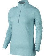 bluza do biegania damska NIKE ELEMENT HALF ZIP / 685910-437