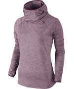 bluza do biegania damska NIKE ELEMENT HOODY / 685818-563