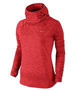 bluza do biegania damska NIKE ELEMENT HOODY / 685818-697