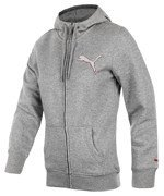 bluza sportowa damska PUMA HOODED SWEAT JACKET / 827852-45