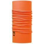 chusta do biegania BUFF HIGH UV PROTECTION BUFF SOLID ORANGE FLUOR / 111426.211