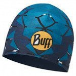 czapka dwustronna do biegania BUFF COOLMAX REVERSIBLE HAT BUFF HELIX OCEAN / 115177.737.10.00