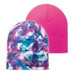 czapka dwustronna do biegania BUFF MICROFIBER REVERSIBLE HAT BUFF FLECTED / 108917.789.10