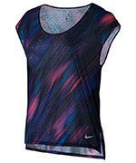 koszulka do biegania damska NIKE BREATHE TOP SHORT SLEEVE COOL / 831877-540