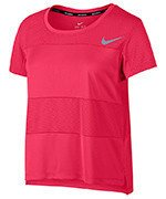 koszulka do biegania damska NIKE DRY TOP SHORT SLEEVE CITY CORE / 836797-617