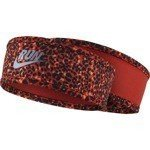 opaska do biegania damska dwustronna WOMEN'S RUN LOTUS HEADBAND / 800686-696