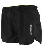 spodenki do biegania damskie REEBOK RUNNING ESSENTIALS 4INCH SHORT / AJ0413