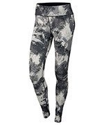 spodnie do biegania damskie NIKE POWER  ESSENTIAL PRINT TIGHT / 848004-010