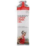 suplement SQUEEZY SUPER DRINK GEL cytryna + kofeina / 60 ml