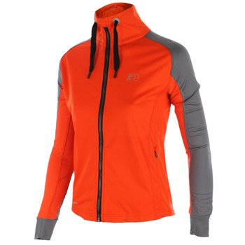 bluza do biegania damska NEWLINE BASE WARM-UP ZIP JERSEY / 13310-017