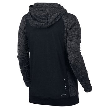 bluza do biegania damska NIKE DRY HOODIE CITY WOOL / 802931-010