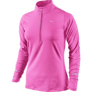 bluza do biegania damska NIKE ELEMENT HALF ZIP / 481320-667