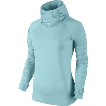 bluza do biegania damska NIKE ELEMENT HOODY / 685818-437