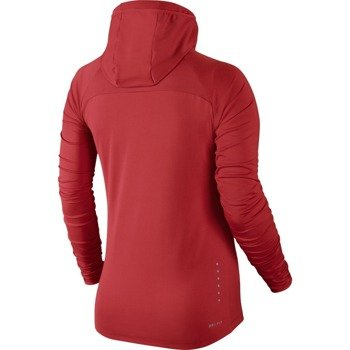 bluza do biegania damska NIKE ELEMENT HOODY / 685818-696