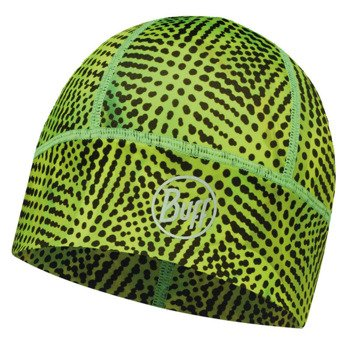 czapka do biegania BUFF XDCS TECH HAT BUFF XYSTER YELLOW FLUOR / 113190.117.10