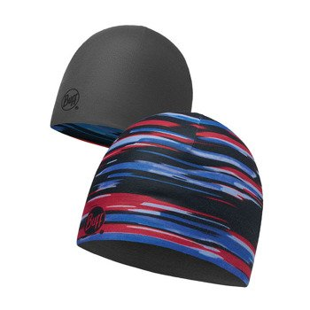 czapka dwustronna do biegania BUFF MICROFIBER REVERSIBLE HAT BUFF NEW ELDER / 113171.555.10