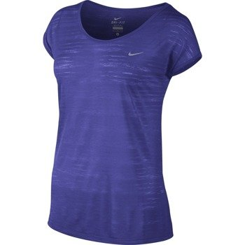 koszulka do biegania damska NIKE DRI FIT COOL BREEZE SHORTSLEEVE TOP / 644710-518
