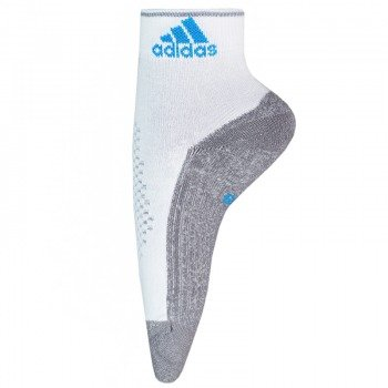 skarpety do biegania ADIDAS RUNNING TC2 HALFCREW white/medium grey heather (1 para)