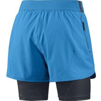 spodenki do biegania damskie ADIDAS ADISTAR 2 IN 1 COMPRESSION SHORT / D85657