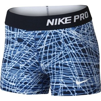 "spodenki termoaktywne damskie NIKE PRO COOL 3"" SHORT TRACER / 725455-455"