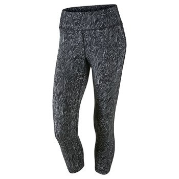 spodnie do biegania damskie 3/4 NIKE POWER EPIC RUNNING CROP / 799820-010