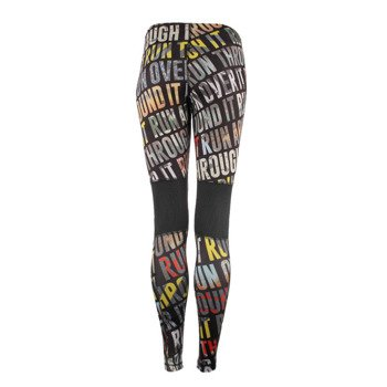 spodnie do biegania damskie REEBOK RUNNING ESSENTIALS TIGHT RUN ALLOVER PRINTED / S94353