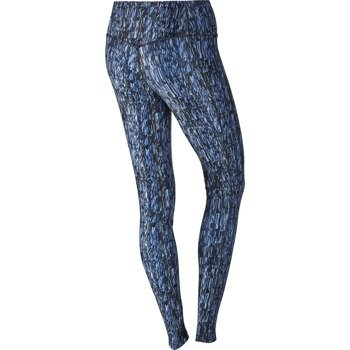 spodnie sportowe damskie NIKE POWER TRAINING  TIGHT POLY SCREEN FUZZ / 802907-425