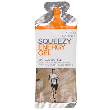 suplement SQUEEZY ENERGY GEL malina / 33g