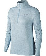 bluza do biegania damska NIKE ELEMENT HALF ZIP / 855517-452