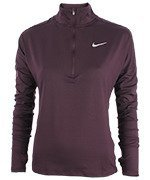 bluza do biegania damska NIKE ELEMENT HALF ZIP / 855517-609