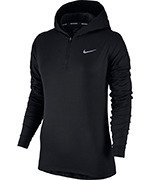 bluza do biegania damska NIKE ELEMENT HALF ZIP HOODIE / 855515-010