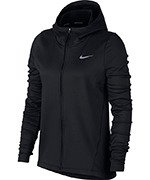 bluza do biegania damska NIKE THERMA HOODIE CORE WARM / 856161-010
