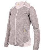 bluza do biegania damska SALOMON ELEVATE FULL ZIP MIDLAYER JACKET / 39378500