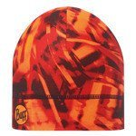 czapka do biegania BUFF COOLMAX 1 LAYER HAT BUFF NITRIC ORANGE / 111500.211