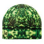 czapka do biegania BUFF MICROFIBER 1 LAYER HAT BUFF CARSON YELLOW FLUOR / 108909.117.10