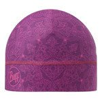 czapka do biegania BUFF MICROFIBER 1 LAYER HAT BUFF CHI MAGENTA / 111399.535.10