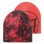 czapka dwustronna do biegania BUFF COOLMAX REVERSIBLE HAT BUFF CRASH FIERY RED / 111506.409