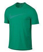 73b1d139032c6 koszulka do biegania męska NIKE DRI-FIT CONTOUR RUNNING TOP SHORT SLEEVE    800812-