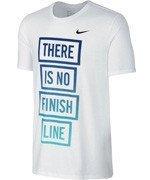0414d7593f378 koszulka do biegania męska NIKE RUN DRI-FIT BLEND THERE IS NO FINISH LINE  TEE