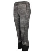 legginsy damskie 3/4 ADIDAS TECHFIT CAPRI PRINTED HEATHER / AI2953