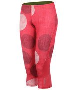 legginsy do biegania damskie 3/4 REEBOK ESSENTIALS CAPRI DOT / B86564