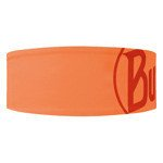 opaska do biegania BUFF HEADBAND TECH BUFF LOGO ORANGE FLUOR / 111460.211