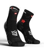 skarpety kompresyjne COMPRESSPORT PRO RACING SOCKS V3.0 HIGH SMART (1 para) / BLACK
