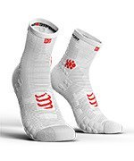 skarpety kompresyjne COMPRESSPORT PRO RACING SOCKS V3.0 HIGH SMART (1 para) / WHITE