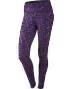 spodnie do biegania damskie NIKE LOTUS EPIC RUN TIGHT / 686061-547