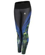 spodnie sportowe damskie ADIDAS GO TO GEAR TIGHT LONG ALLOVER PRINTED / A99661