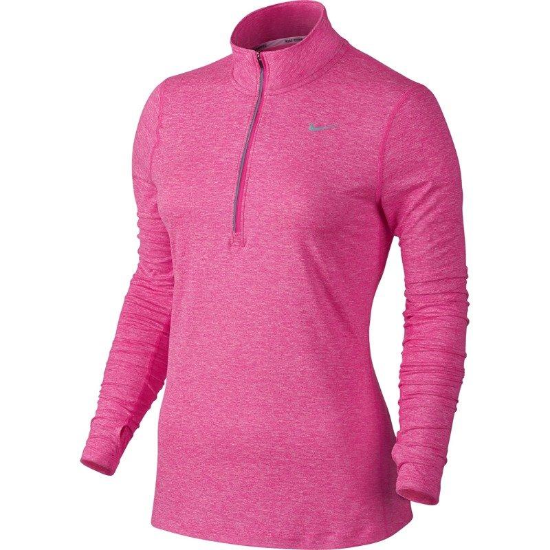 bluza do biegania damska NIKE ELEMENT HALF ZIP 685910 639