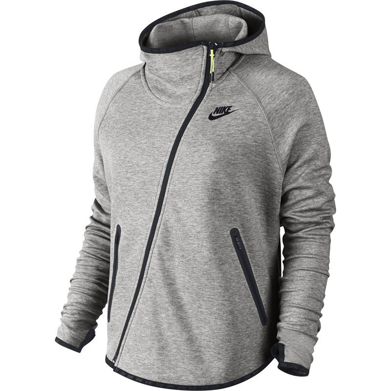 konkretna oferta rozmiar 7 hurtownia online bluza sportowa damska NIKE TECH FLEECE BUTTERFLY / 617358-063