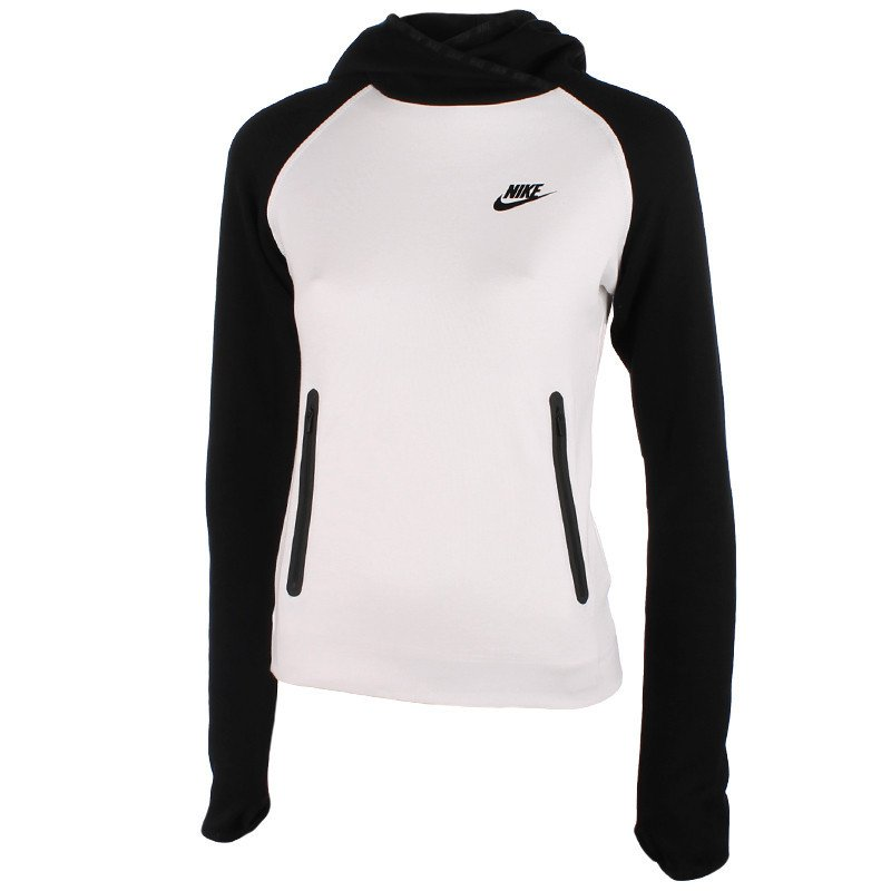 klasyczny styl unikalny design najlepszy bluza sportowa damska NIKE TECH FLEECE FUNNEL / 617186-011